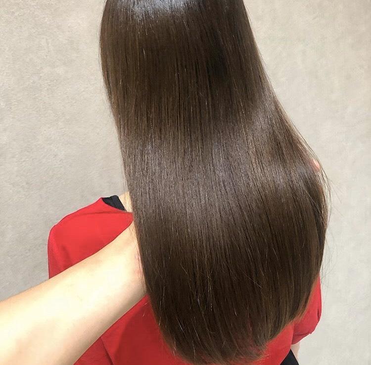 ストレートヘア