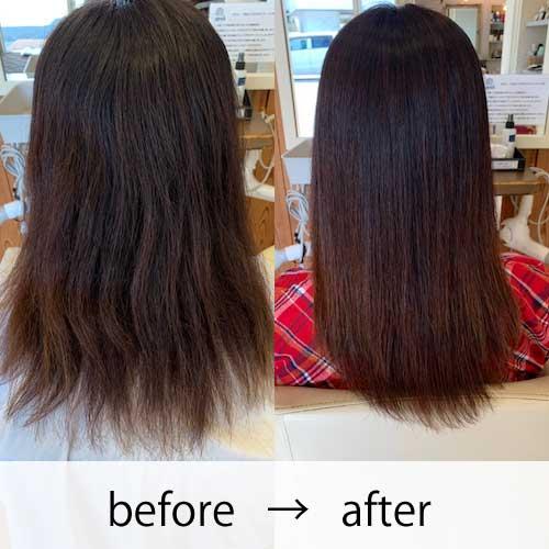 艶髪矯正ストレー 事例2